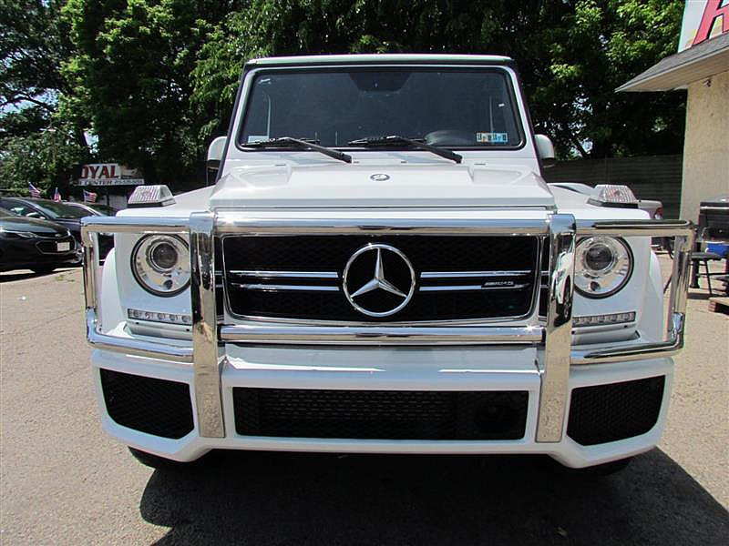 Used 2017  Mercedes-Benz G-Class 4d SUV G63 AMG at Royal Car Center near Philadelphia, PA