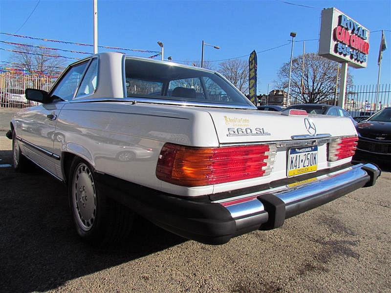 Used 1988  Mercedes-Benz 560 Series 2d Convertible at Royal Car Center near Philadelphia, PA