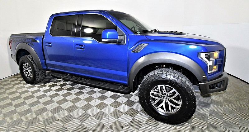 Used 2018  Ford F150 4WD SuperCrew Raptor at Graham Auto Mall near Mansfield, OH