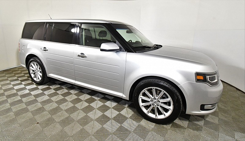 Used 2018  Ford Flex 4d SUV FWD Limited at Graham Auto Mall near Mansfield, OH