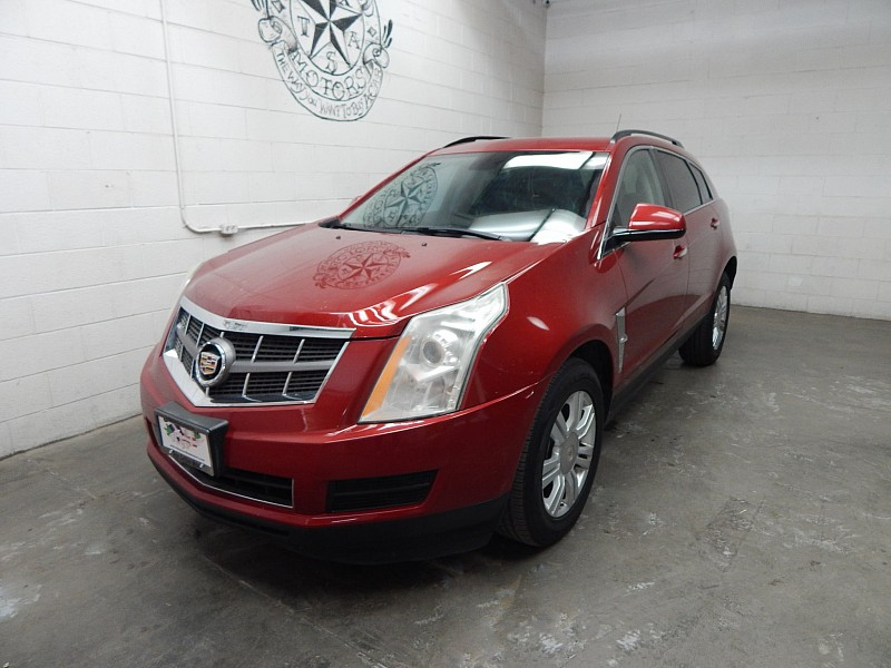 Used 2012  Cadillac SRX 4d SUV FWD at Texas Certified Motors near Odesa, TX