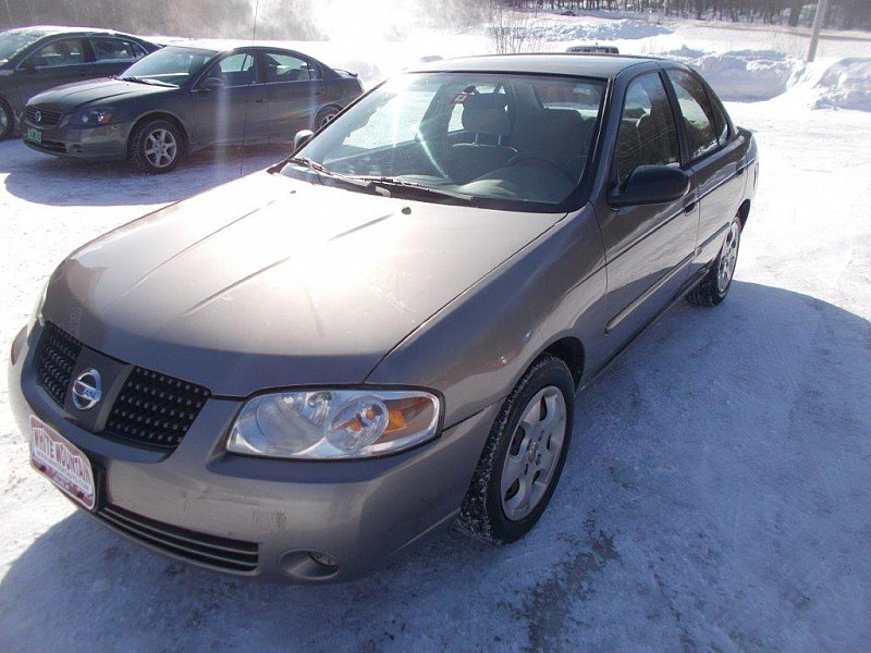 Used 2005  Nissan Sentra 4dr Sdn I4 Auto 1.8 S ULEV at White Mountain Auto near Whitefield, NH