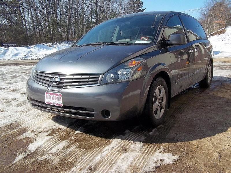 Used 2008  Nissan Quest 4dr Base at White Mountain Auto near Whitefield, NH