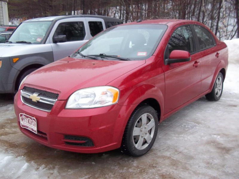 2011 Chevrolet Aveo 4d Sedan LS at White Mountain Auto near Whitefield, NH