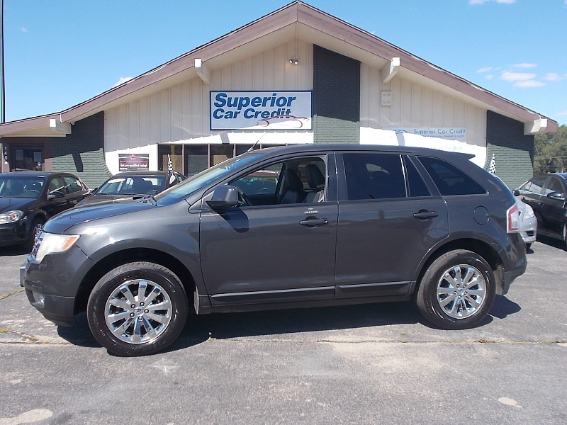 Used 2007  Ford Edge 4d SUV FWD SEL Plus at Superior Car Credit near Freeport, IL