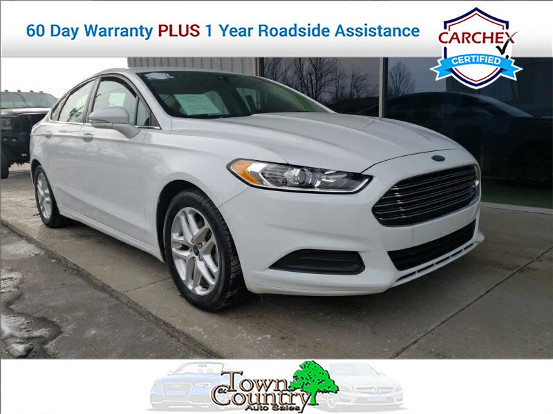 2015 Ford Fusion 4d Sedan SE 2.5L at Town & Country Auto Sales near Winchester, KY