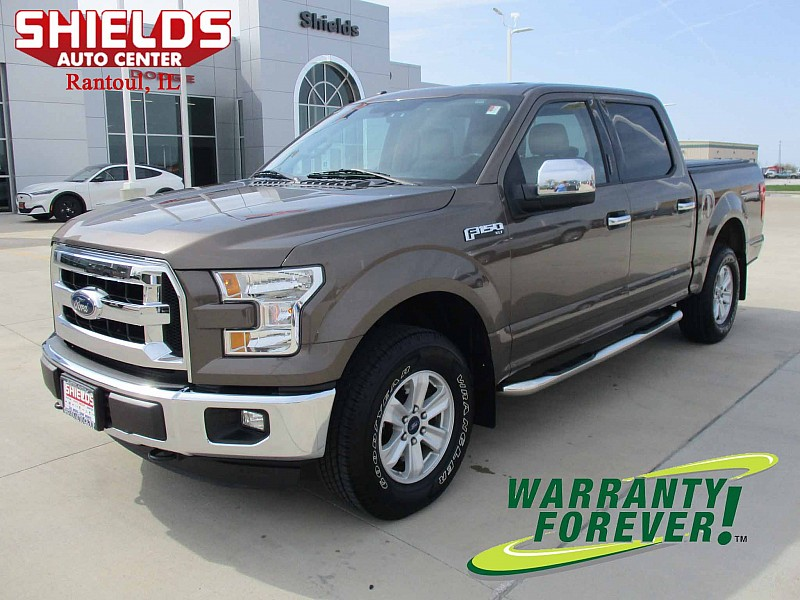 Used 2016  Ford F150 4WD SuperCrew XLT 5 1/2 at Shields Auto Center near Rantoul, IL