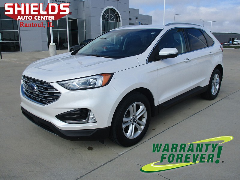 Used 2019  Ford Edge 4d SUV AWD SEL at Shields Auto Center near Rantoul, IL