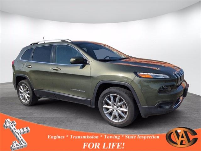 Used 2018  Jeep Cherokee 4d SUV 4WD Limited I4 at VA Cars Inc. near Richmond, VA