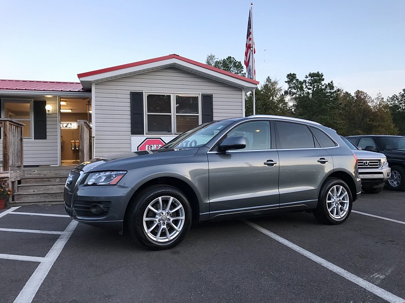 Used 2012  Audi Q5 4d SUV 2.0T Premium+ at One Stop Auto Sales near Macon, GA