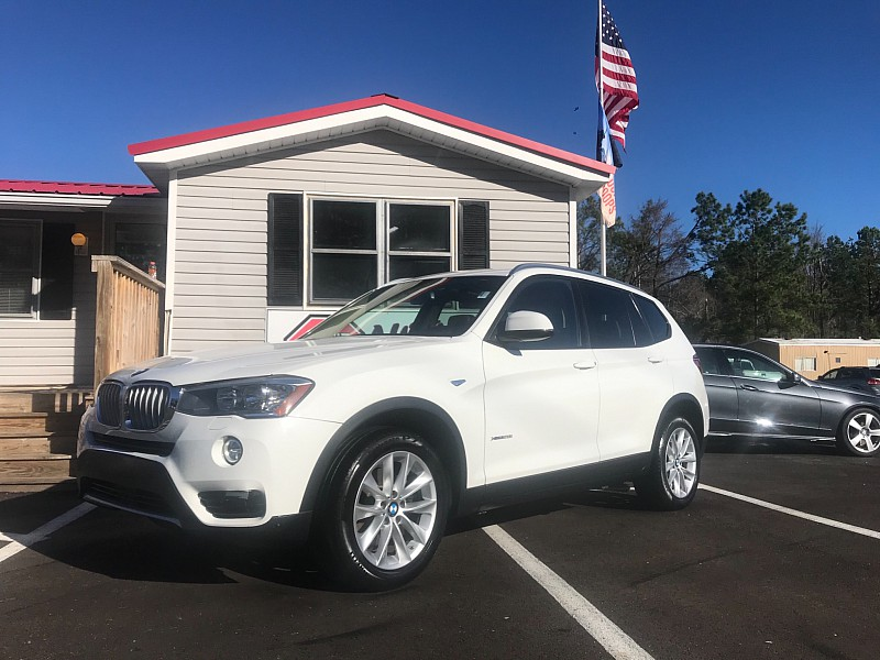 2017 BMW X3 4d SAV xDrive28i at One Stop Auto Sales near Macon, GA