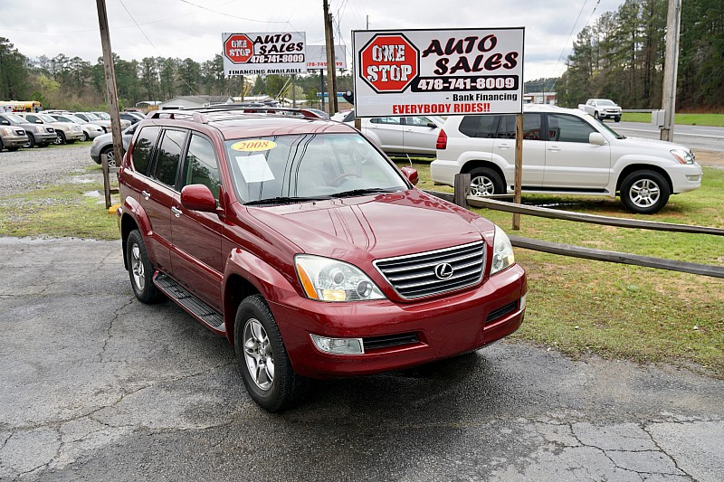 Used 2008  Lexus GX470 4d SUV at One Stop Auto Sales near Macon, GA