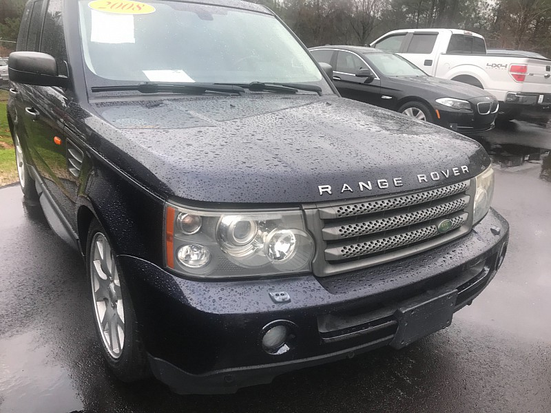 Used 2008  Land Rover Range Rover Sport 4d SUV HSE at One Stop Auto Sales near Macon, GA