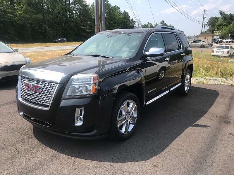 Used 2013  GMC Terrain 4d SUV FWD Denali at One Stop Auto Sales near Macon, GA
