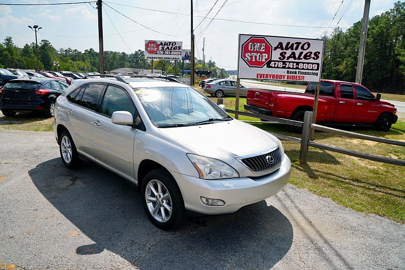 Used 2008  Lexus RX350 4d SUV FWD at One Stop Auto Sales near Macon, GA