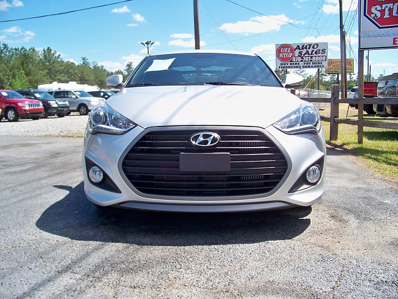 Used 2016  Hyundai Veloster 3d Coupe Turbo Auto at One Stop Auto Sales near Macon, GA