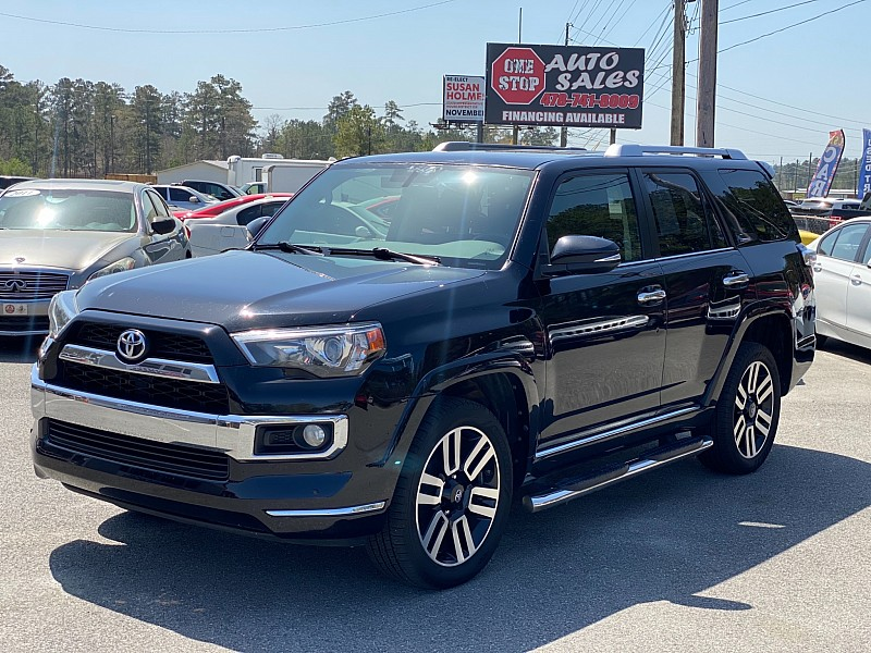 Used 2016  Toyota 4Runner 4d SUV RWD Limited at One Stop Auto Sales near Macon, GA