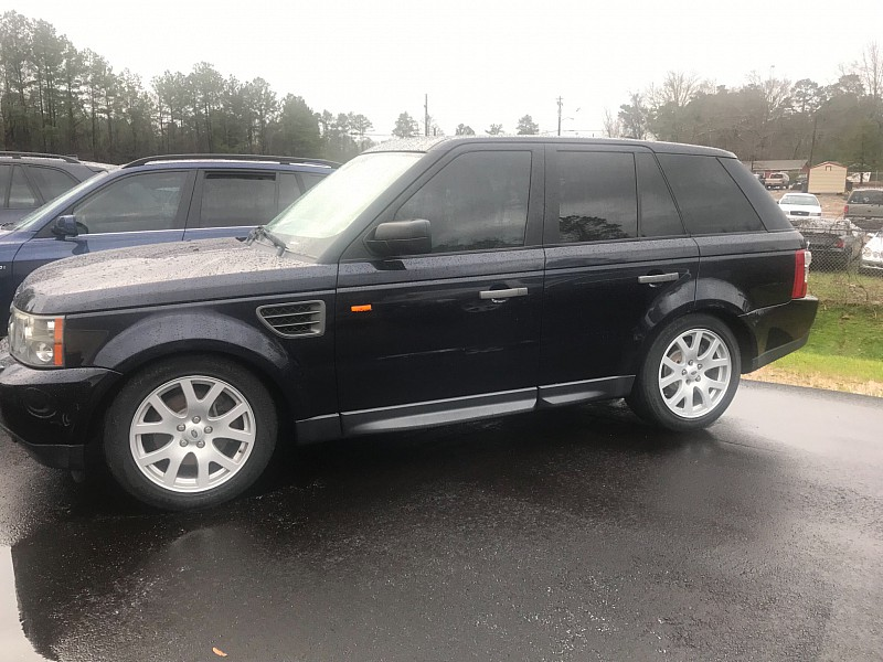 2008 Land Rover Range Rover Sport 4d SUV HSE at One Stop Auto Sales near Macon, GA