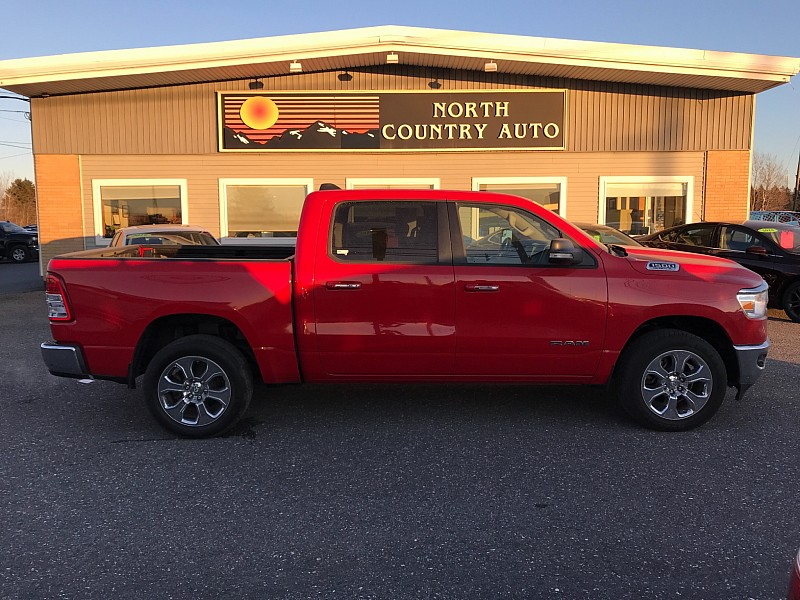 Used 2020  Ram 1500 4WD Crew Cab Big Horn at North Country Auto near Presque Isle, ME