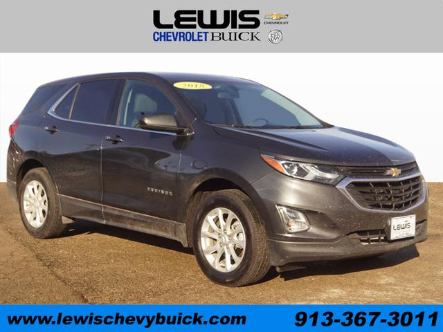 Used 2018  Chevrolet Equinox 4d SUV FWD LT w/1LT at Drive Now Kansas near Atchison, KS