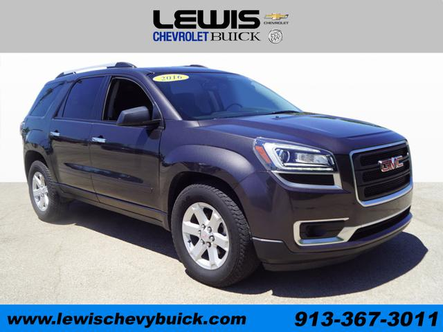 Used 2016  GMC Acadia 4d SUV FWD SLE-1 at Drive Now Kansas near Atchison, KS