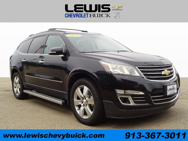 Used 2015  Chevrolet Traverse 4d SUV FWD LTZ at Drive Now Kansas near Atchison, KS