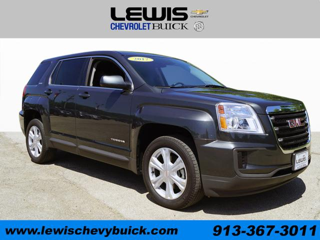 Used 2017  GMC Terrain 4d SUV FWD SLE1 at Drive Now Kansas near Atchison, KS