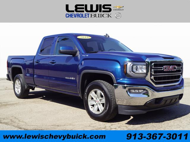 Used 2016  GMC Sierra 1500 4WD Double Cab SLE at Drive Now Kansas near Atchison, KS