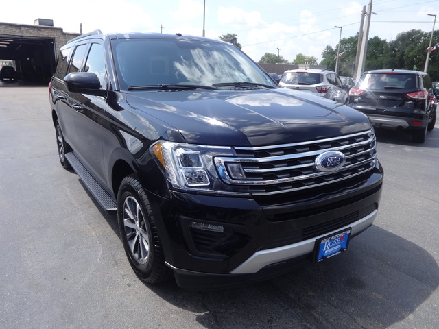 Used 2019  Ford Expedition Max 4d SUV 2WD XLT at Rose Automotive near Hamilton, OH
