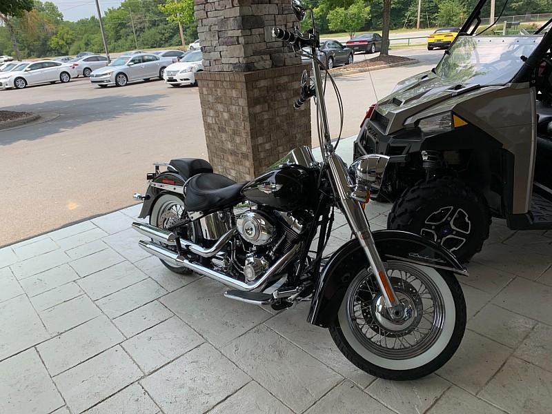 Used 2009  HARLEY DAVIDSO FLSTN SFT TAIL  at Bill Fitts Auto Sales near Little Rock, AR