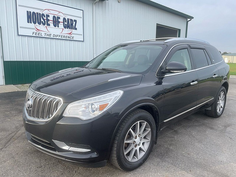 Used 2015  Buick Enclave 4d SUV AWD Leather at House of Carz near Rochester, IN