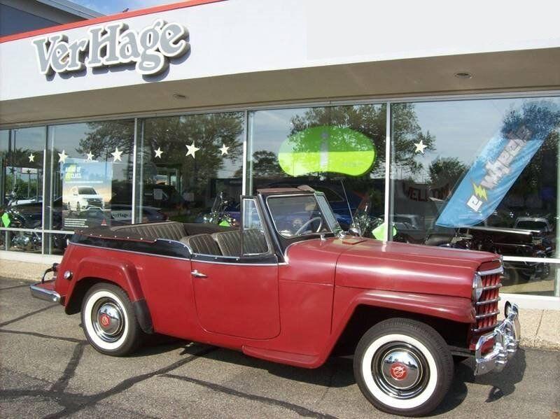 Used 1951  Willys-Kaiser JEEPSTER PHAETON at VerHage Auto Sales near Holland, MI
