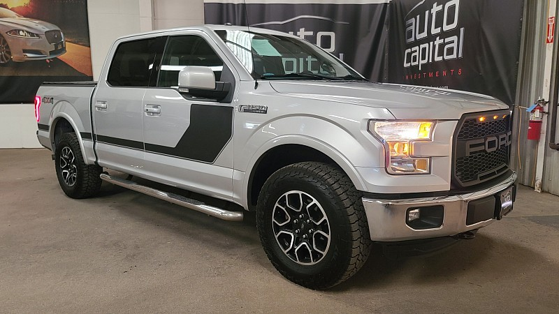 Used 2016  Ford F150 4WD SuperCrew Lariat 5 1/2 at Auto Capital Stockyards near Forth Worth, TX