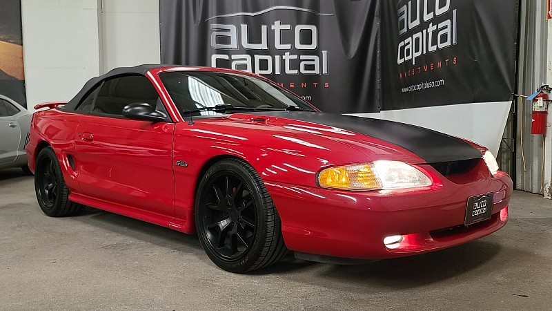 Used 1998  Ford Mustang 2d Convertible GT at Auto Capital USA near Fort Worth, TX